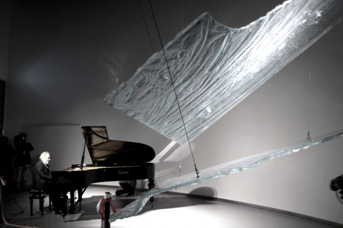 Soul of Piano at EXPO 2005 in Nagoya, Aichi, Japan by Archiglass, Tomasz Urbanowicz. All rights reserved.