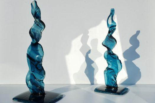 Glass Sculpture e-Motion by ARCHIGLASS Urbanowicz Milano Vetro -35 Sforza Castle Proposal